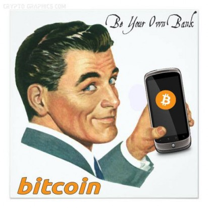 Bitcoin Be your own bank